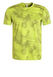 Adidas Performance Sports Shirt Sesosl Solar Green Neon Yellow