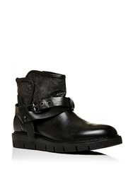 Moda In Pelle Uphold Slouch Ankle Boots Black