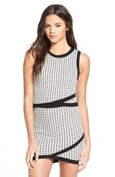 Junior Women's Lush Check Shell White Black