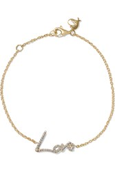 Stephen Webster Tracey Emin Love 18 Karat Gold Diamond Bracelet
