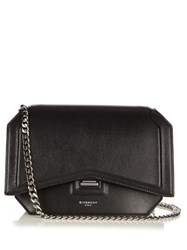 Givenchy Bow Cut Leather Cross Body Bag Black