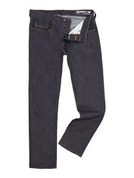 Duck And Cover Men's Boxsir Straight Jeans Blue