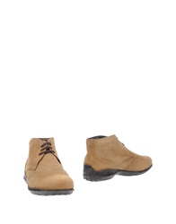 Gold Brothers Ankle Boots Sand