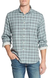 Grayers Men's 'Chartley' Trim Fit Plaid Double Woven Sport Shirt