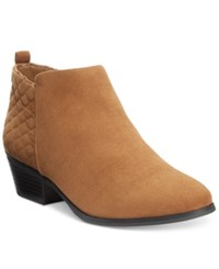 Styleandco. Style Co. Wessley Casual Booties Only At Macy's Women's Shoes Chestnut