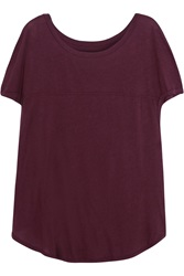 Enza Costa Pima Cotton Top Red