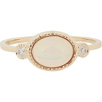 Jennie Kwon Women's Diamond Opal And Gold Ring No Color