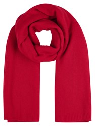 Winser London Cashmere Wrap Red
