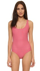 Cover Tank Swimsuit Gingham