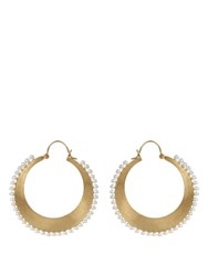 Irene Neuwirth Akoya Pearl And Yellow Gold Earrings