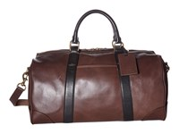 Polo Ralph Lauren Core Leather Duffel Mahogany Black Duffel Bags
