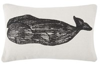 Thomas Paul Thomaspaul Whale Stripe Sketch Pillow