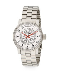 Fortis Spacematic Stainless Steel Watch Silver