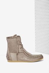 Nasty Gal Sam Edelman Katelyn Leather Moccasin Bootie