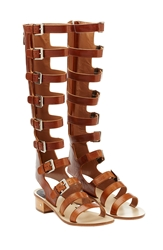 Laurence Dacade Halle Leather Gladiator Sandals