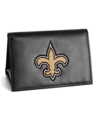 Rico Industries New Orleans Saints Trifold Wallet Black