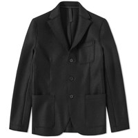 Harris Wharf London 3 Button Jacket Black