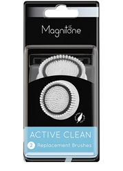 Magnitone Active Clean Replacement Brushes 2 Pack