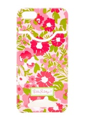 Lilly Pulitzer Garden By The Sea Card Slots Iphone5 Protective Case
