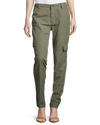 True Religion Celina Relaxed Rolled Cargo Pant Dusty Olive
