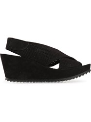 Pedro Garcia 'Frigg' Sandals Black