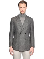 Larusmiani Double Breasted Wool Jacket