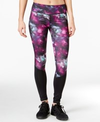 Ideology Supernova Printed Training Leggings Only At Macy's