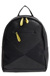 Poverty Flats By Rian Sport V2 Faux Leather And Neoprene Backpack