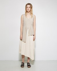Ivan Grundahl Prin Layer Dress Off White