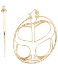 Sis By Simone I Smith Large Infinity Hoop Earrings In 18K Gold Over Sterling Silver