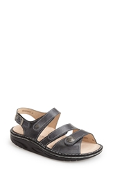 Finn Comfort 'Tiberias' Leather Sandal Women Grey