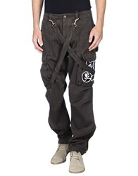 Bad Spirit Trousers Casual Trousers Men Dark Brown
