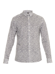 Paul Smith Ps Animal Print Cotton Shirt