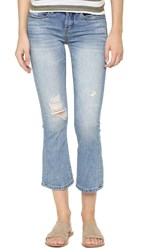 Blank The Cropped Micro Flare Jeans Weekend Warrior
