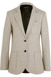 Vanessa Seward Abel Wool Blazer Light Gray
