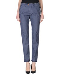 Seventy By Sergio Tegon Trousers Casual Trousers Women Slate Blue