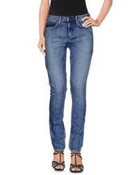 Theory Denim Denim Trousers Women