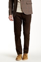 Hudson Jeans Blake Slim Straight Leg Jean Brown