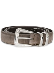 Brunello Cucinelli Classic Belt Brown
