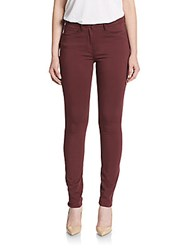 3X1 High Rise Skinny Jeans Red