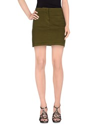 L'autre Chose L' Autre Chose Skirts Mini Skirts Women Military Green