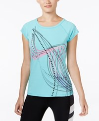 Ideology Ombre Graphic T Shirt Only At Macy's Crystal Mint