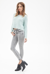 Forever 21 Mid Rise Classic Skinny Jeans