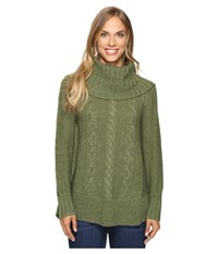 Smartwool Crestone Tunic Light Loden Heather Women's Sweater Green