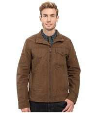 Timberland Mount Davis Timeless Waxed Canvas Jacket Shitake Men's Coat Brown