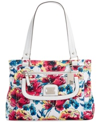 Style And Co. Yassimen Satchel Floral