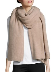 Collection 18 Ribbed Knit Wrap Beige