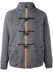 Bark 'K Way' Duffle Coat Grey