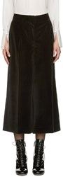 Marc Jacobs Black Velvet Wide Leg Trousers