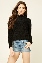 Forever 21 Fuzzy Crew Sweater